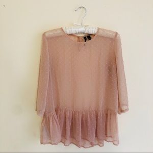 Princess Pink MANGO blouse 🎀